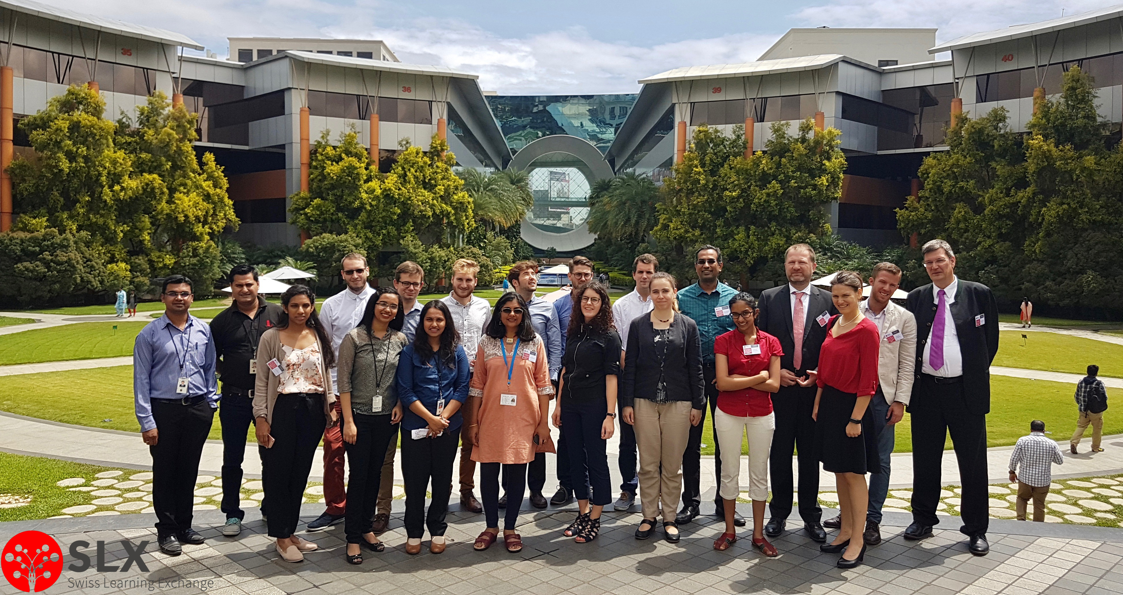 Tech India Digital India Offices Bangalore Swiss Learning Exchange Immersion Study Trip